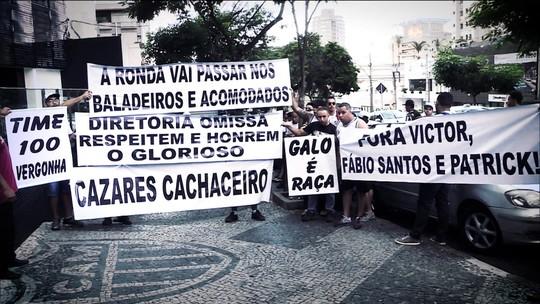 Atlético-MG tem semana tumultuada antes da final contra o Cruzeiro pelo Mineiro