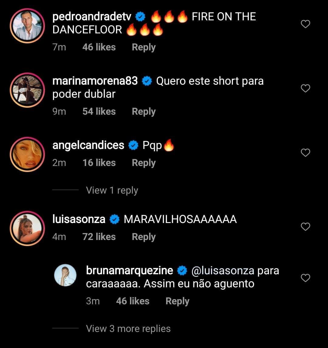 Bruna Marquezine recebe elogios de famosas (Foto: Reprodução/Instagram)