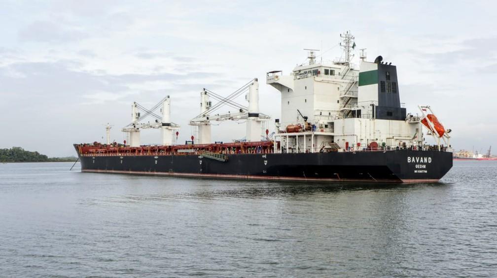 Navios estavam parados desde junho no litoral paranaense — Foto: Divulgação/Portos do Paraná