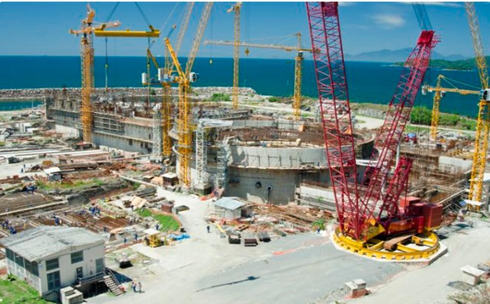 Resultado de imagem para construir seis novas usinas nucleares no Brasil