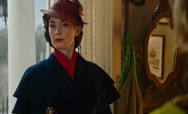 Emily Blunt como Mary Poppins (Foto: Reprodução )