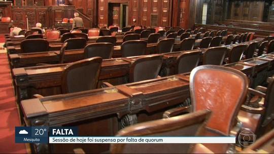 Alerj tem média de mais de duas faltas de deputados por sessão