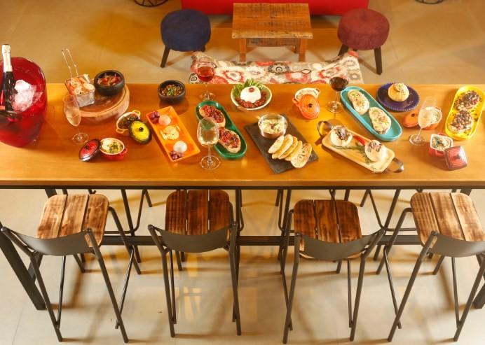 Comidinhas do Le Terroir: menu assinado pelo chef Fabio Nogueira