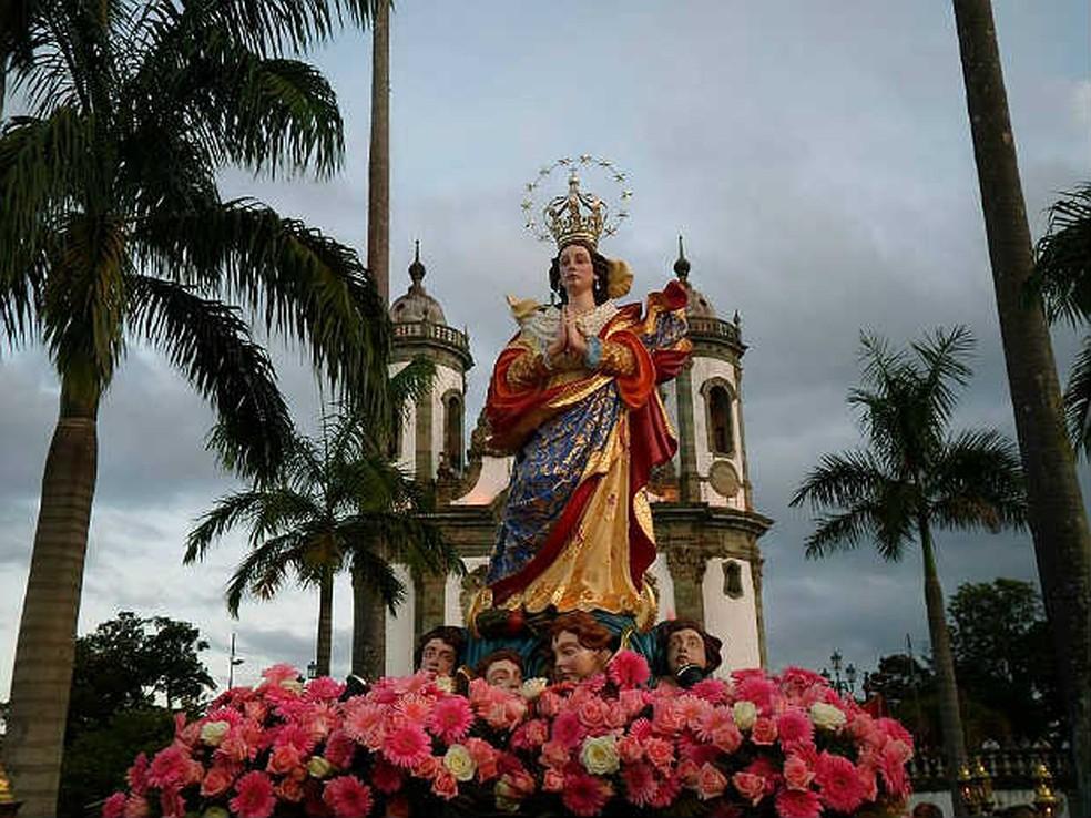 -  Procissão de Imaculada Conceição terá missa e procissão saindo da Igreja São Francisco de Assis  Foto: Dedicom SJDR/ Divulgação