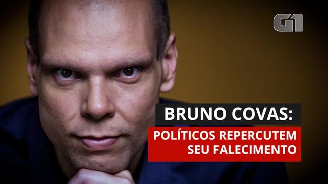 Bruno Covas: mundo político lamenta morte do prefeito de São Paulo