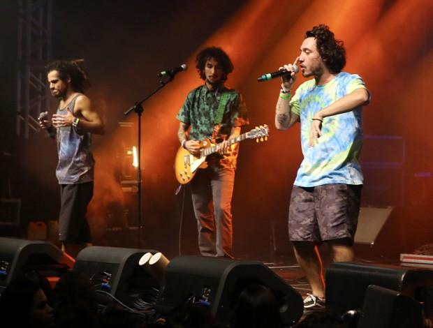 O trio Big Up! (Foto: Manuela Scarpa/Brazil News)
