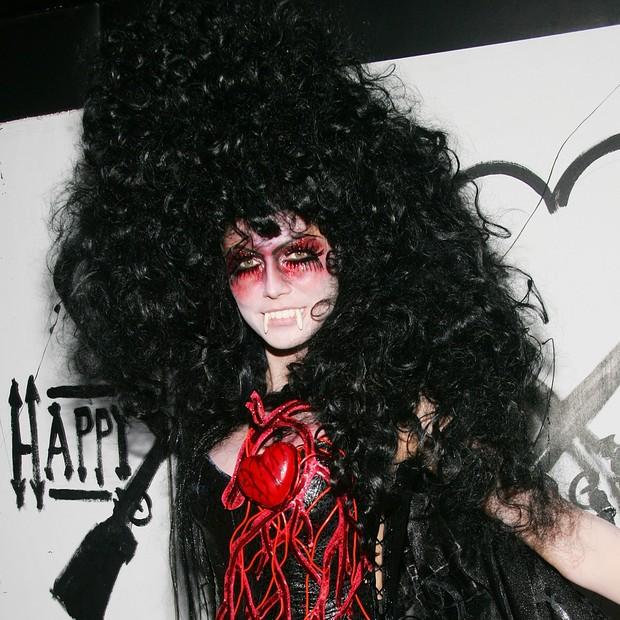 Heidi Klum de vampira (Foto: Getty Images)