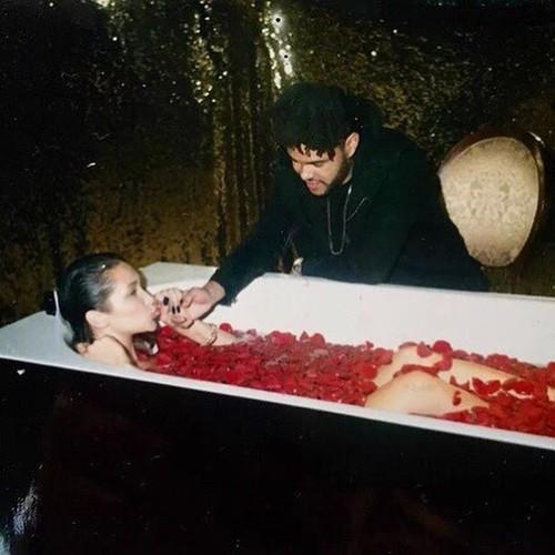 Bella Hadid e The Weeknd (Foto: Instagram/Reprodução)