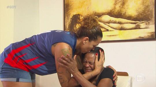 Pivô da seleção brasileira, Érika conta com torcedora especial de 86 anos