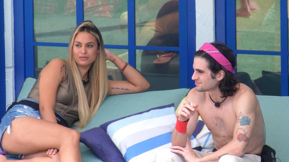 Fiuk fala sobre sister do BBB21: 'Ela tentava o tempo todo provar que não era igual ao Arthur' — Foto: Globo