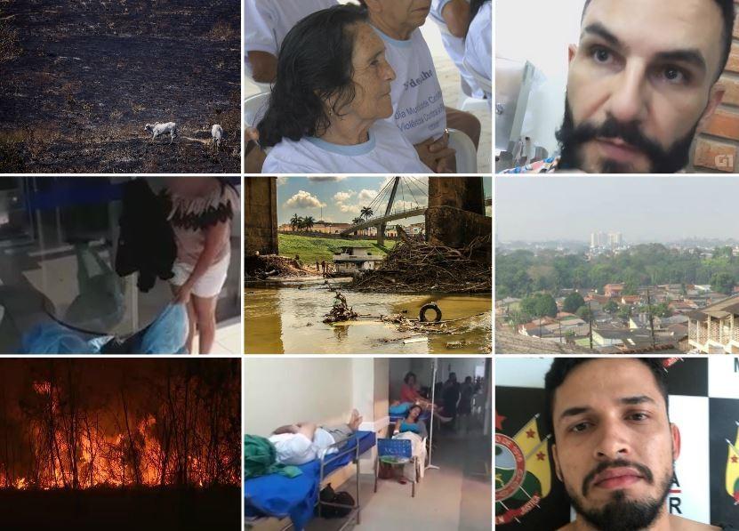 Você viu? Mulher traída, queimadas, estado de emergência, seca do rio e mais  - Notícias - Plantão Diário