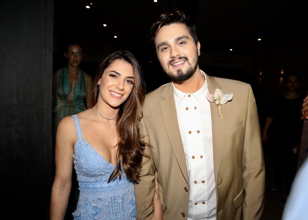 Luan Santana e Jade Magalhães, casamento Camila Queiroz e Klebber Toledo (Foto: Manuela Scarpa e Iwi Onodera/Brazil News)