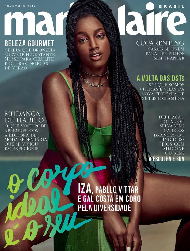 Iza na capa de novembro de Marie Claire (Foto: Marie Claire)