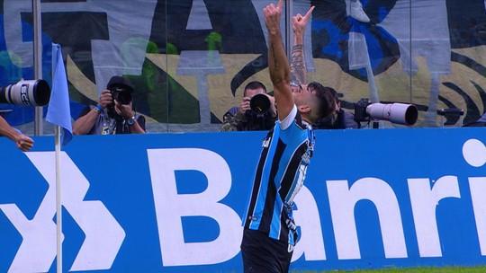 Os gols de Grêmio 3 x 0 Juventude pelas oitavas da Copa do Brasil