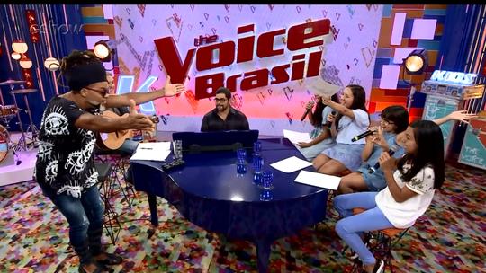 'The Voice Kids': confira momentos inéditos dos ensaios das Batalhas