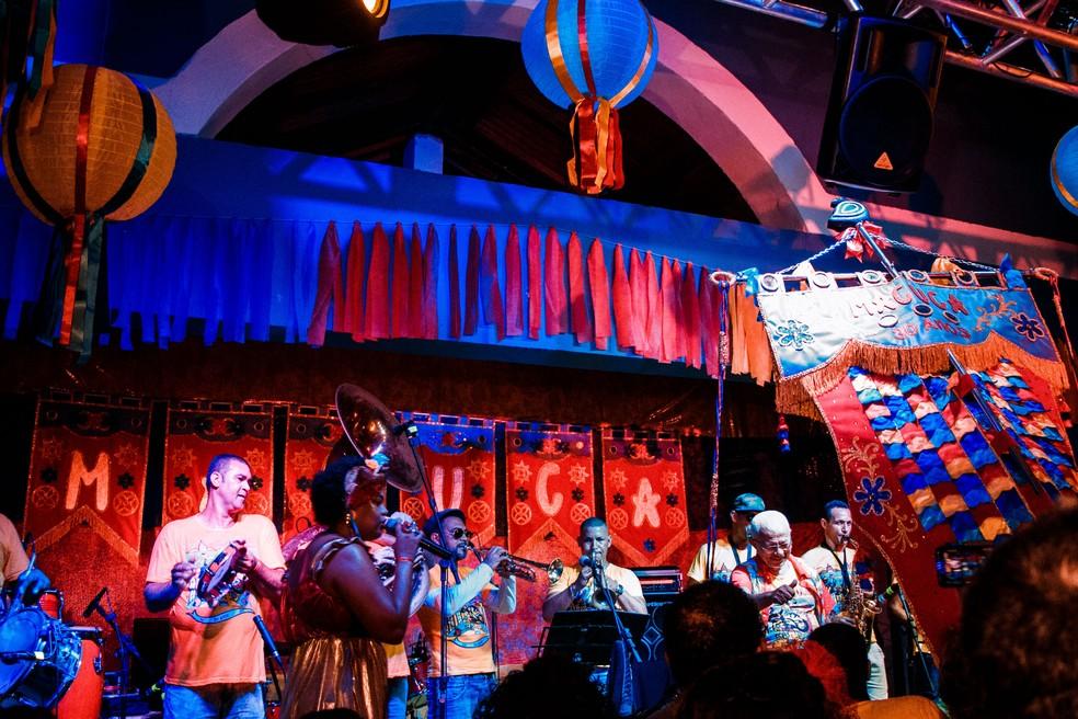 Orquestra do Maestro Oséas é atração da live do Elefante de Olinda — Foto: Kelvin Andrad/Divulgação