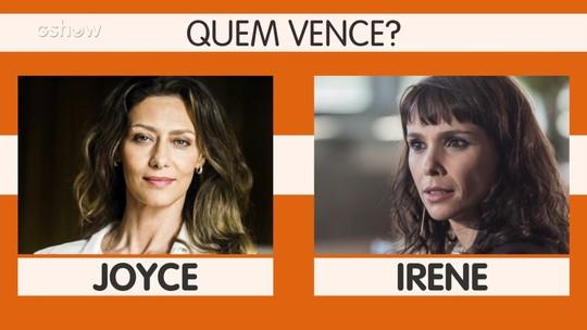 Maria Fernanda Cândido sobre briga de Joyce e Irene: 'Definição de barraco será atualizada'