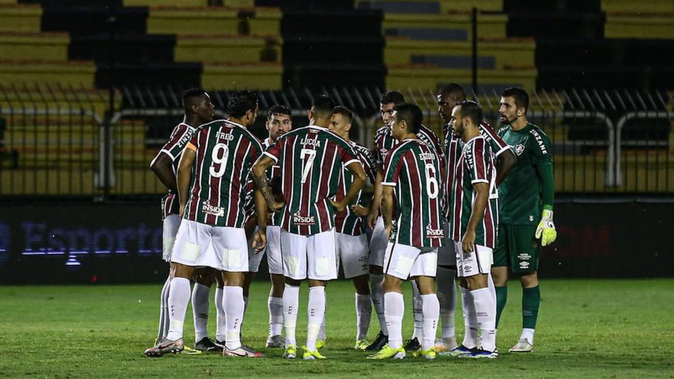 Fluminense ainda está longe do padrão da temporada passada — Foto: Lucas Merçon / Fluminense FC