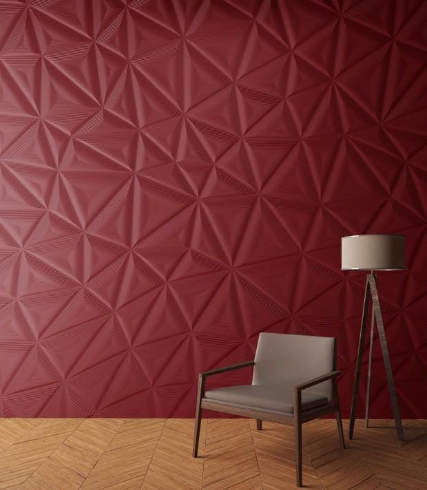 Substituto do papel de parede tem volume, textura e nada de papel (Foto: Divulgação)