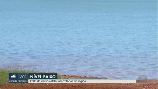 Baixo volume de chuva afeta turismo em Delfinópolis e geração de energia na bacia do Rio Grande