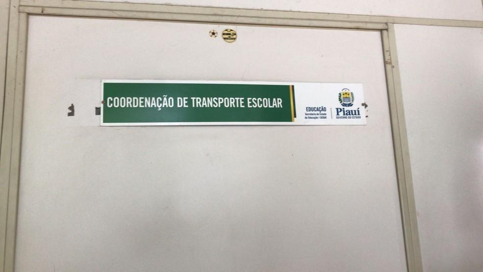 Operação Topique cumpre mandados contra fraude no transporte escolar. (Foto: Felipe Pereira/TV Clube)
