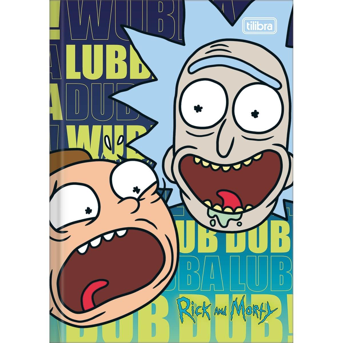 Caderno de brochura Rick e Morty (Foto: Divulgação)