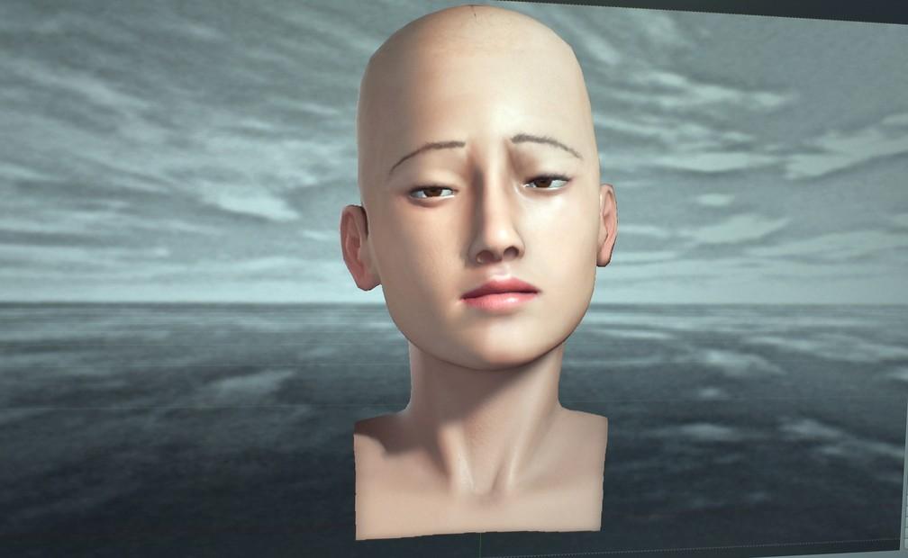 Eva responde a estímulos com expressões faciais humanizadas — Foto: Régis Melo
