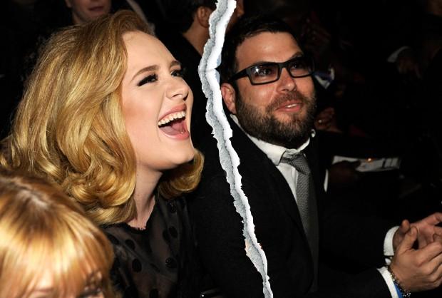 Adele e Simon Konecki (Foto: Getty Images)