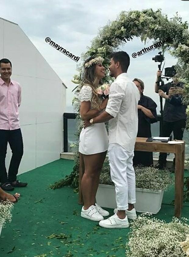 Casamento de Mayra Cardi (Foto: Instagram/Reprodução)