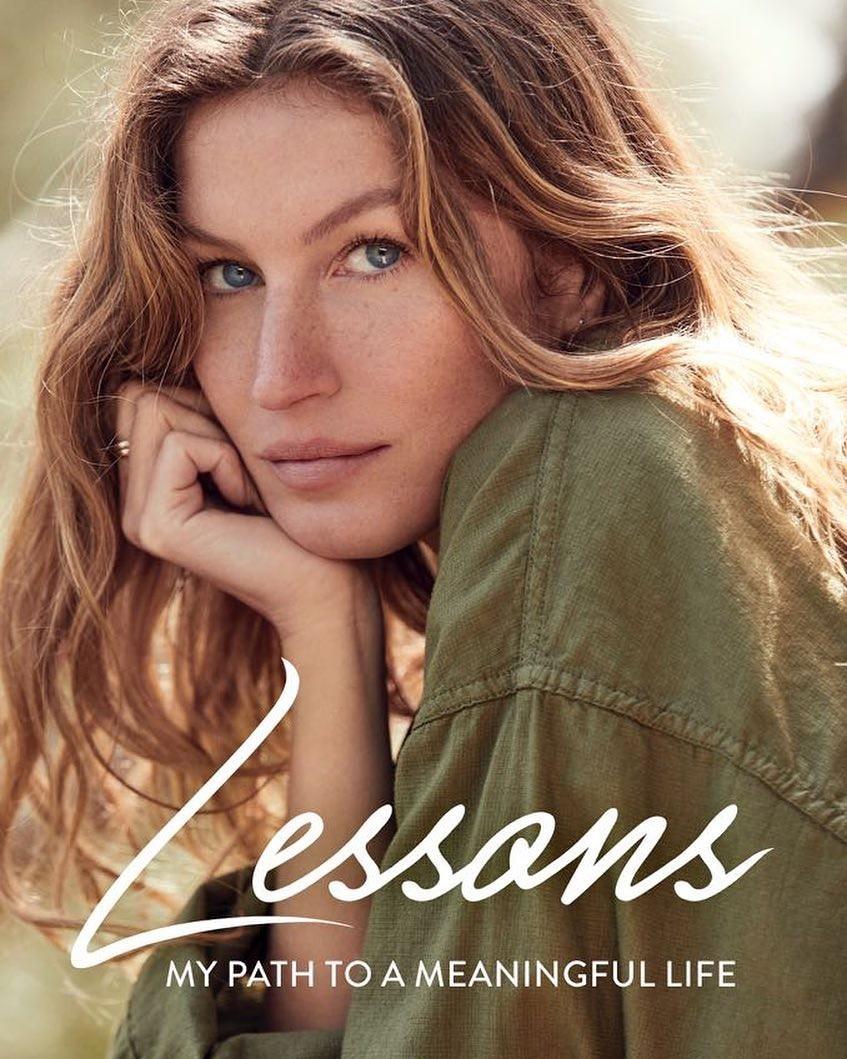 Gisele divulga capa e data de lançamento de seu livro (Foto: Reprodução/Instagram)
