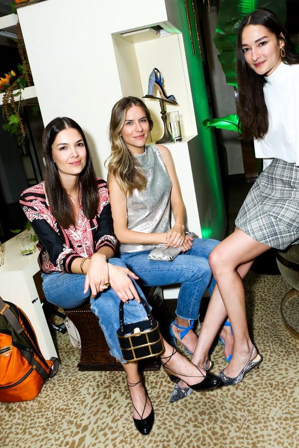 Renata Zandonadi, Fabiane Nunes, Bruna Tenorio (Foto: Samantha Deitch/BFA.com)
