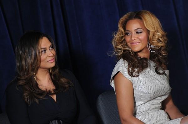 Tina Knowles e Beyoncé (Foto: Getty Images)