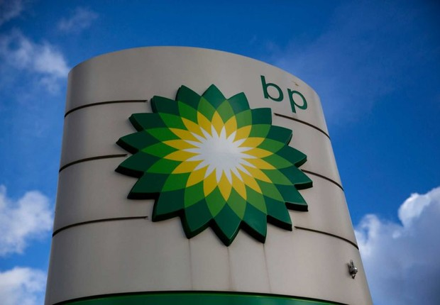 Logo da companhia petrolífera British Petroleum (BP) (Foto: Getty Images)