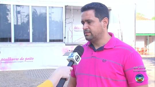 Carreta da mamografia atende mulheres em Oscar Bressane e região