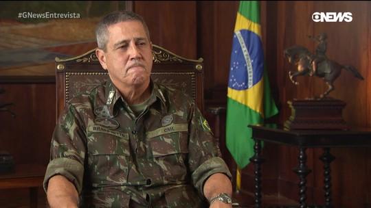 Documento: General Braga Netto diz que polícia terá acesso a novas armas no RJ