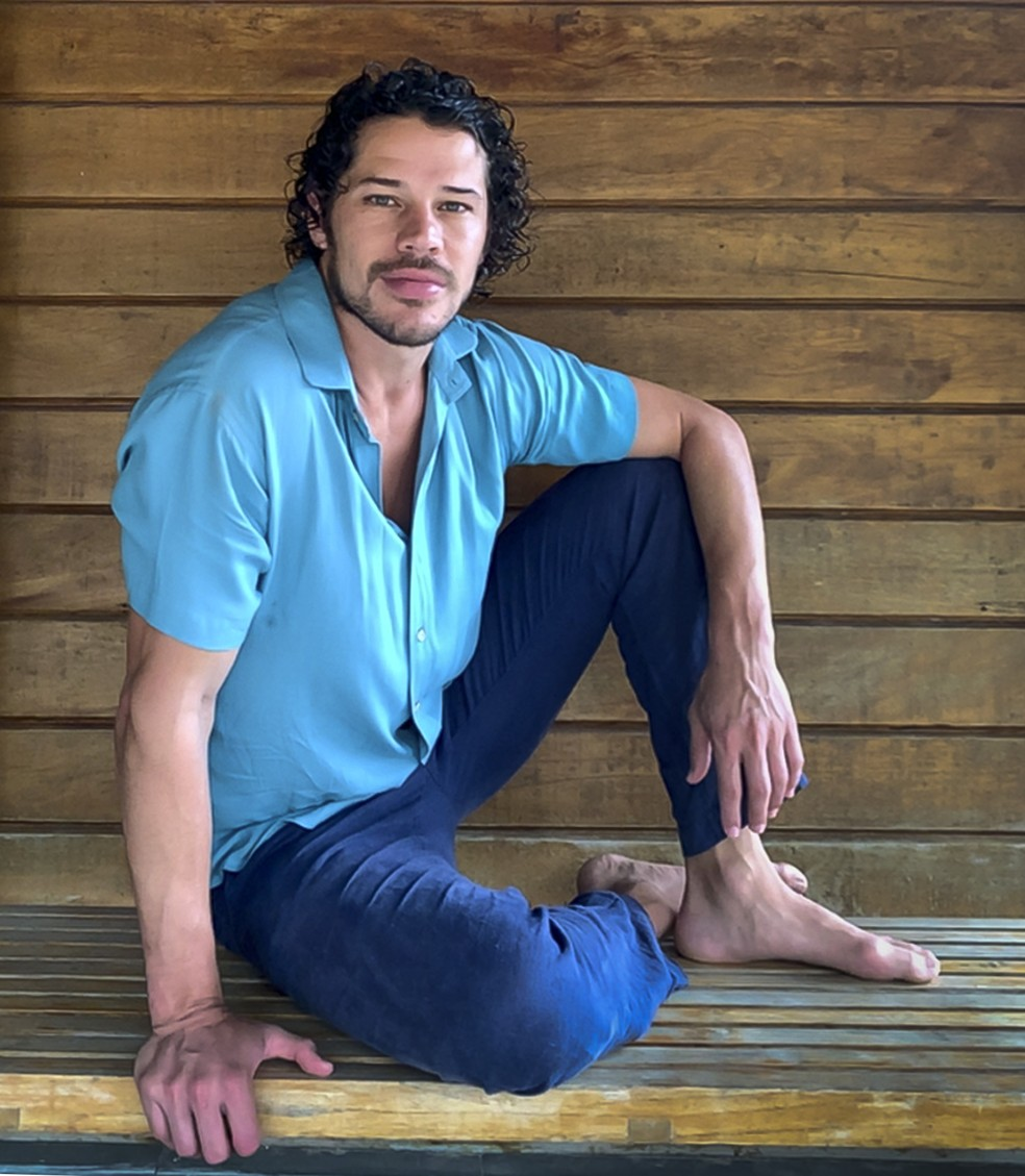 José Loreto fala com carinho de Candinho, personagem que interpretou em 'Flor do Caribe' — Foto: Globo/Divulgação