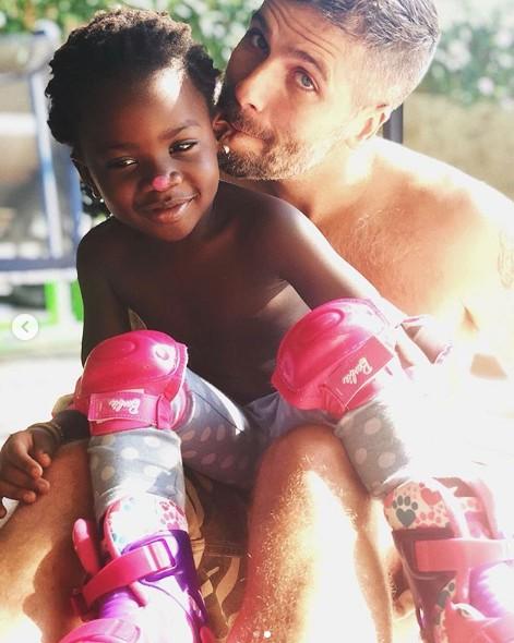 Bruno Gagliasso e a filha, Titi (Foto: Reprodução Instagram)
