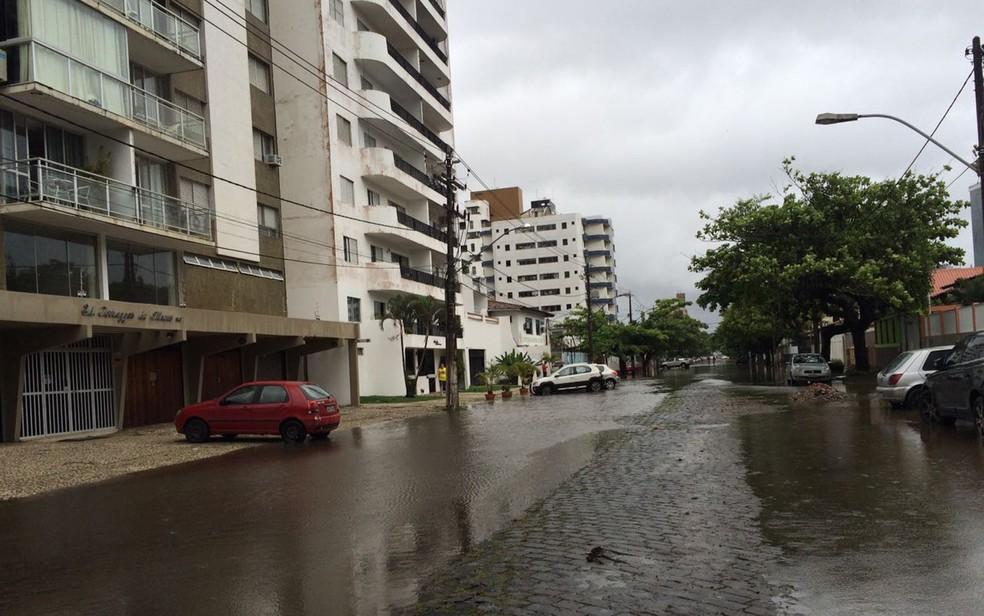 Defesa Civil de Ilhéus emite alerta de chuva com rajadas de ventos intensas na cidade. (Foto: Arquivo pessoal)