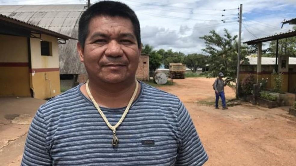 Clóvis Curubão é o único prefeito indígena do país e apoia a regulamentação (Foto: João Fellet/BBC Brasil)