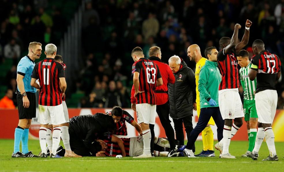 Milan é punido por Uefa em R$ 53 milhões — Foto: Marcelo del Pozo/Reuters