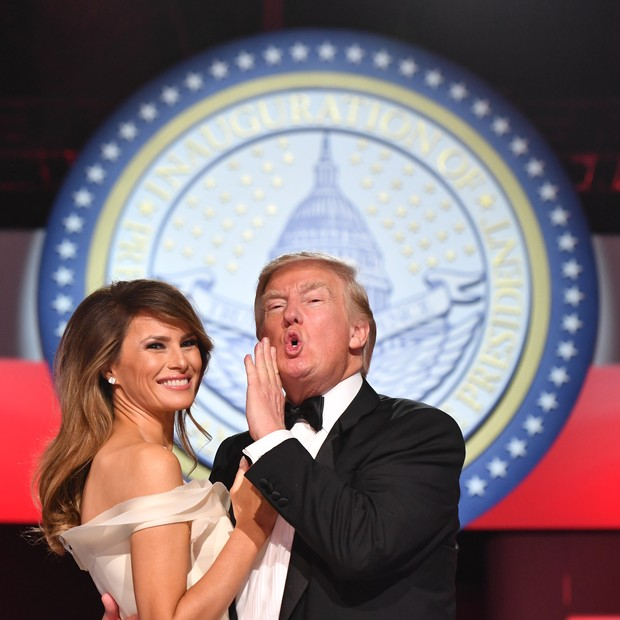 Melania e Donald Trump (Foto: Getty Images)