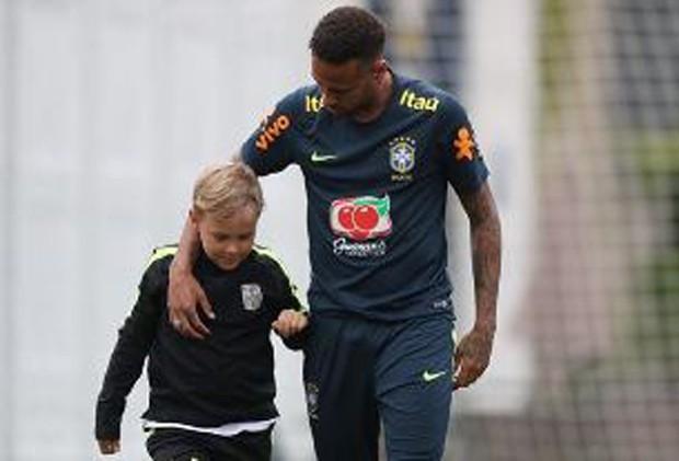 Davi Lucca e o pai, Neymar  (Foto: Reprodução/Instagram)