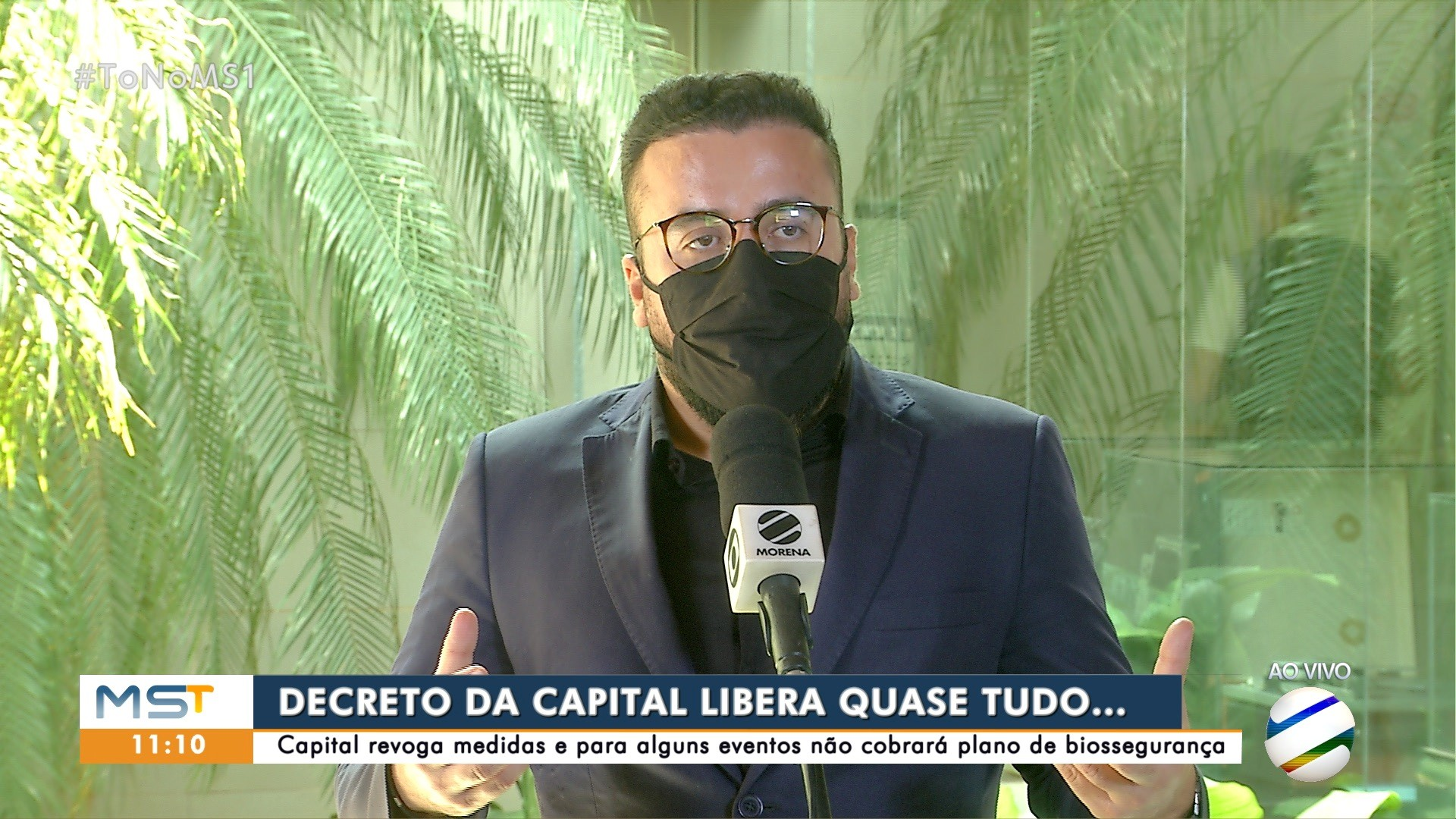Procurador-geral de Campo Grande explica sobre flexibilizações das regras de biossegurança