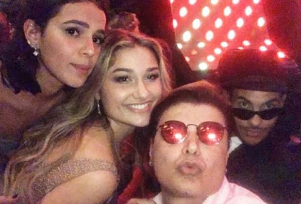 Bruna Marquezine, Sasha, David Brazil e Hugo Gloss (Foto: Reprodução/Instagram)