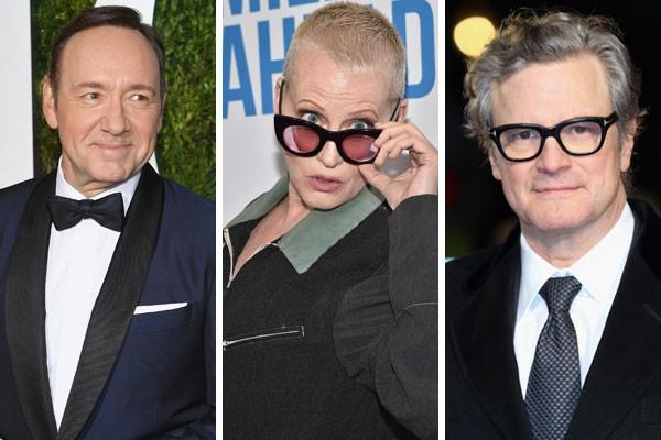 Kevin Spacey, Lori Pettu e Colin Firth já foram substituídos em meio às filmagens de um longa  (Foto: Getty Images)