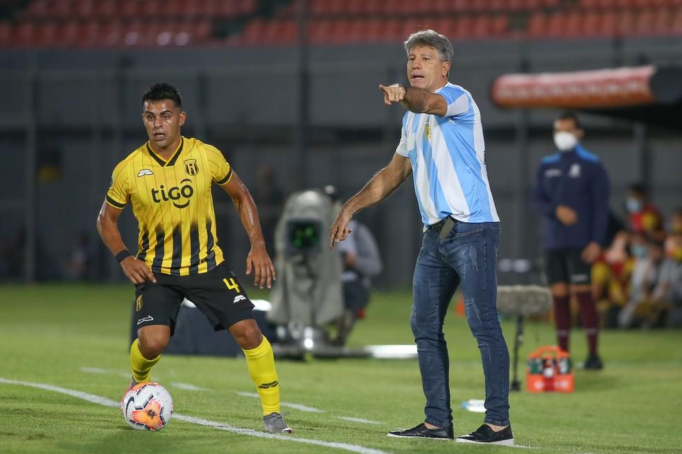 Renato Portaluppi tem apontado os caminhos para o time — Foto: Staff Images/Conmebol