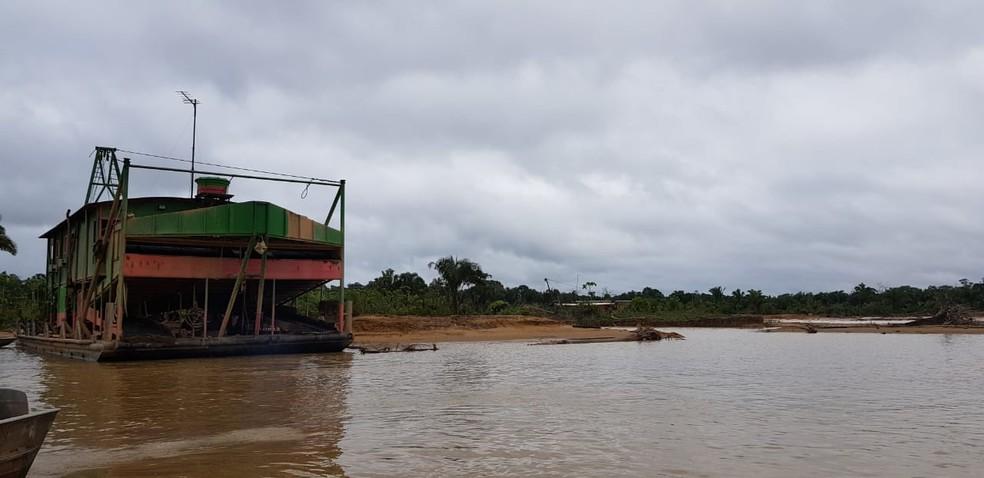 Local pertence à Unidade de Conservação Parque Nacional do Mapinguari.  — Foto: PF/Divulgação