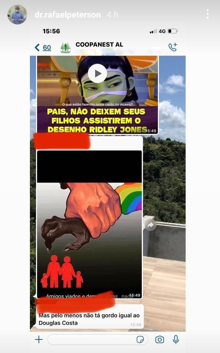Médico denuncia homofobia em grupo de colegas de profissão de Alagoas