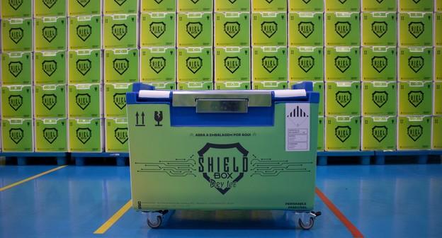 Startup cria embalagem sustentável e tecnológica para transporte de vacinas