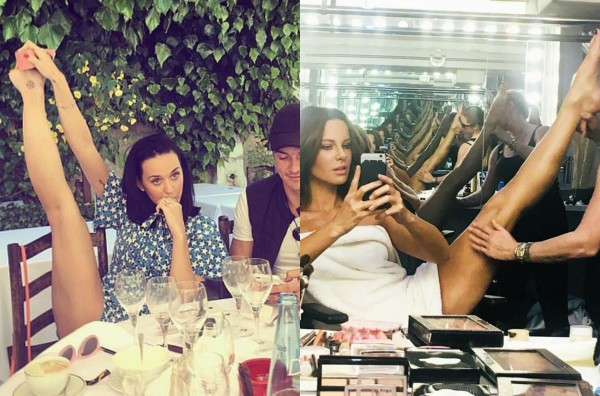 Katy Perry e Kate Beckinsale (Foto: Reprodução Instagram)
